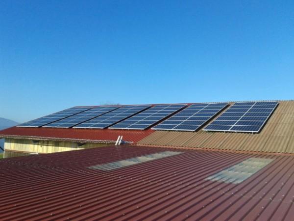 Photovoltaikanlage Landwirtschaft