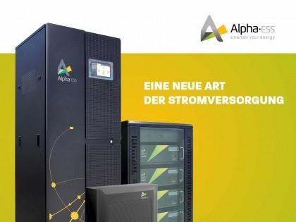Alpha ESS Energiespeicher