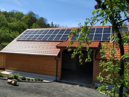 Photovoltaik Wildgehege Hochberg